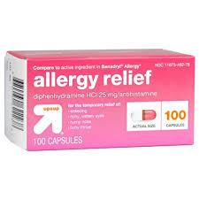 Up&Up™ Allergy Relief Antihistamine Capsules - 100ct (Compare to ...