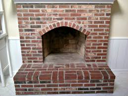 how to clean fireplace brick hearth ideas