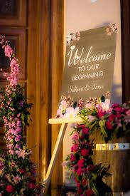 Indian Wedding Name Board Design This Roka Ceremony Of A Wedding Decorator Is All Things