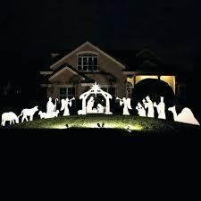 attractive outdoor wooden nativity set appealing