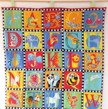 Best 25+ Alphabet quilt ideas on Pinterest | Baby quilt patterns ... & Animal Alphabet Quilted Wall Hanging Alphabet Soup Adamdwight.com