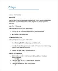 examples of college essays personal college entrance essay