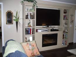 wall mounted electric fireplace units design ideas
