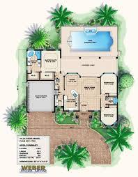 mediterranean house plan small
