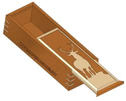 Decorative Wood Boxes With Lids Sliding lid box plan 56
