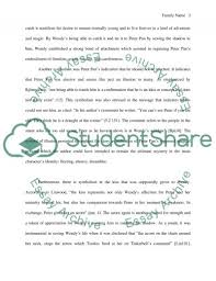 symbolism or theme of the story of peter pan research paper symbolism or theme of the story of peter pan essay example