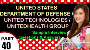group interview questions united states department of defense united technologies unitedhealth group interview questions