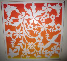 Diy Canvas Art Beauty Glows Diy Fall Inspired Ombre Canvas Art
