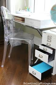 office space desk. Love All The Storage In This Modern Home Office Space And Clear Ghost Chair Is Desk U