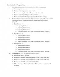 example essay outline co example essay outline