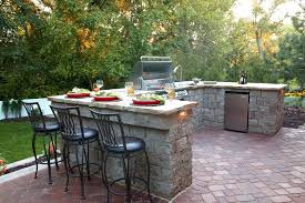 outdoor patio bar ideas kitchen designs decorating design trends simple stone island diy