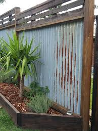 corrugated metal fence recycled hardwood timber fence i dreamed of this for a long time rusty corrugated cost to build corrugated metal fence