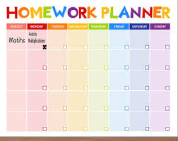 homework planner template pdf custom thesis writing services get help from our thesis writers