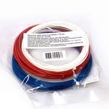 Купить <b>комплект ABS-пластика ESUN</b> 1.75 мм, (белый, синий ...