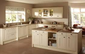 Cream Kitchen Floor Tiles Kitchen Good Looking Shaker Kitchen Decoration With Maple Wood