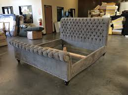 upholstered sleigh beds. Santa Barbara Collection | Custom Upholstered Sleigh Bed Upholstered Sleigh Beds