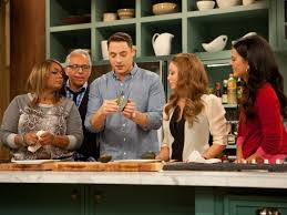 the kitchen food network. Unique Network Jeff Mauro Demonstrates An Avocado Dicer Before Cast Members Compete In A  Gadgets Competition As Seen On Food Networku0027s The Kitchen Season 1 To Kitchen Network