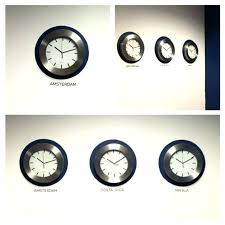 office wall clock. Simple Office Office Wall Clocks With Different Time Zones Decorative  World Think Crafts By Large For Clock