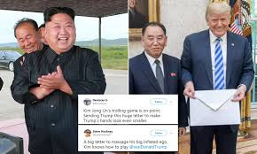 Why was Kim Jong Un's letter to Trump ...