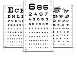 Eye Vision Chart Numbers Products Startseite De Vision Test Types Oculus