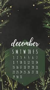 December 2019 iPhone calendar wallpaper ...