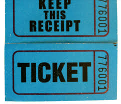 Raffle Ticket Coupon Ticket Roll Paper Paprty Ticket Printing Buy