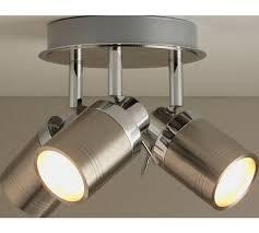 home spotlights lighting. buy collection livorno 3 light bathroom spotlight chrome at argoscouk home spotlights lighting