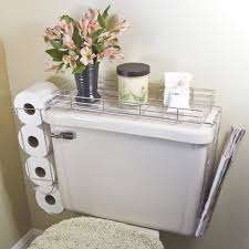 Toilet Paper Holder With Magazine Rack toilet paper rolls CHROME PLATED STEEL 10000 IN 100 TOILET CADDY TANK 26