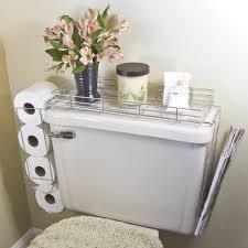 Chrome Toilet Paper Holder Magazine Rack toilet paper rolls CHROME PLATED STEEL 10000 IN 100 TOILET CADDY TANK 15