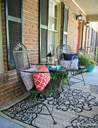 front porch furniture ideas. Refresh Your Home With Southern Front Porch Decorating Ideas Furniture O