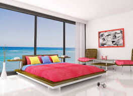 colorful bedroom furniture wall design with ideas gallery bedding