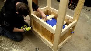 wooden cooler box 18