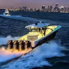 sunset cruise past miami hydra sports boat company sick boats hydra sports boat company