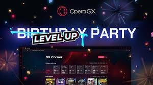 Opera GX schaltet einen Gang hoch