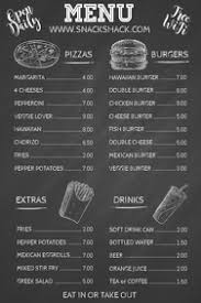 Chalkboard Menu Templates 880 Chalkboard Menu Customizable Design Templates
