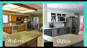 diy kitchen remodel remodelled kitchens before and after galley kitchen makeover