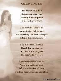 losing mom poems poems