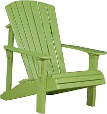 pdaclg poly deluxe adirondack chair lime green copy