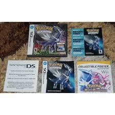 Orig Pokemon Games for Nintendo DS 3DS 2DS DSi
