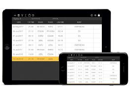 Pilot Logbook International App For Iphone Ipad Flygo
