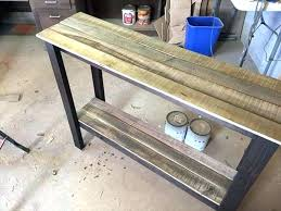 easy diy sofa table. Diy Sofa Table Plans Couch Fresh For Pallet Entryway Intended How To Build  A Inspirations 16 Easy Diy Sofa Table A