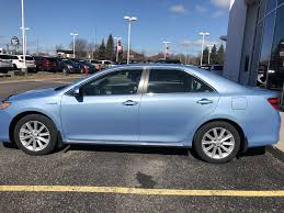 Used 2012 Toyota Camry Hybrid 4 Door Car in Brockville, ON 10388A