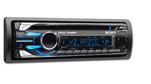 sony mobile audio receivers cdx gt710hd front side spec sheet manual