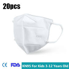 DHL – <b>20Pcs Children KN95</b> 3D Protective Face Masks – High ...