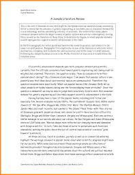 Literature Review Sample Essay Paper Edu 25912 Oracleboss