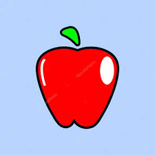 elma icon.vector illüstrasyon — Stok Vektör © Kreyster #93652786