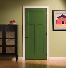 Doors Inspiring Lynden Crossmore Door Green Solid Wood Interior ...