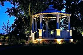 outdoor lighting gazebo string lights solar and chandeliers enchanting marvelous ideas led l