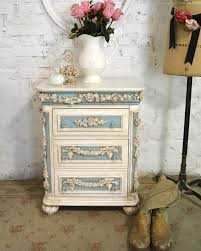 White Shabby Painted Cottage Shabby Chic Romantic Night Table Wayfair Shabby Chic Night Stands