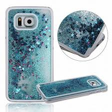 samsung galaxy s6 phone cases for girls. galaxy s6 case ,e-uniq transparent plastic 3d glitter quicksand stars liquid hard samsung phone cases for girls
